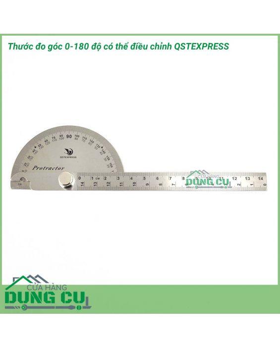Thước đo góc 0-180 độ có thể điều chỉnh