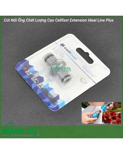 Cút Nối Ống Chất Lượng Cao Cellfast Extension Ideal Line Plus