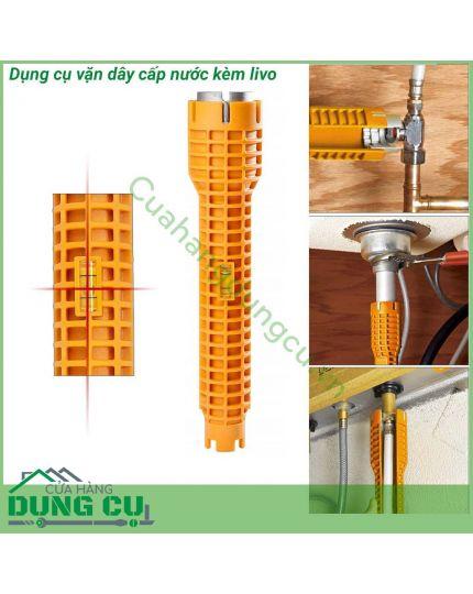 Dụng cụ vặn dây cấp nước chuyên dụng kèm livo