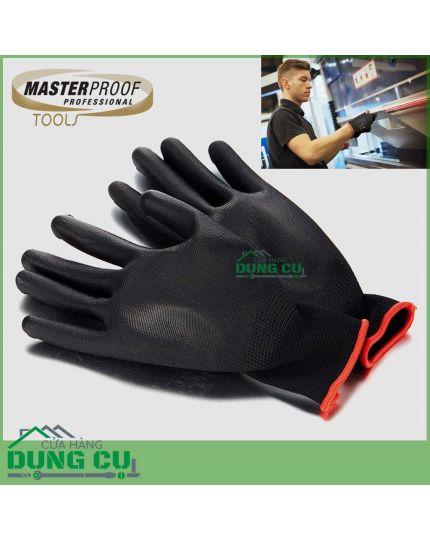 Găng tay bảo hộ lao động sợi Poluester phủ PU