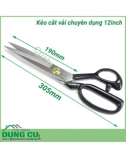 Kéo cắt may chuyên nghiệp 12 inch
