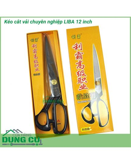 Kéo cắt vải chuyên nghiệp LIBA 12 inch