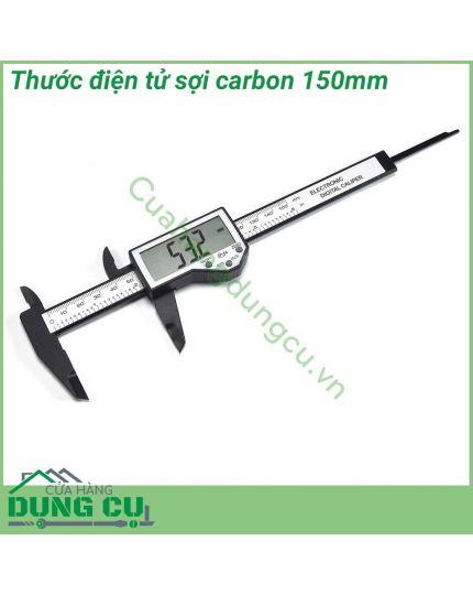 Thước cặp điện tử sợi carbon 150mm