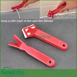 Bộ 2 dụng cụ miết mạch và làm sạch keo silicon