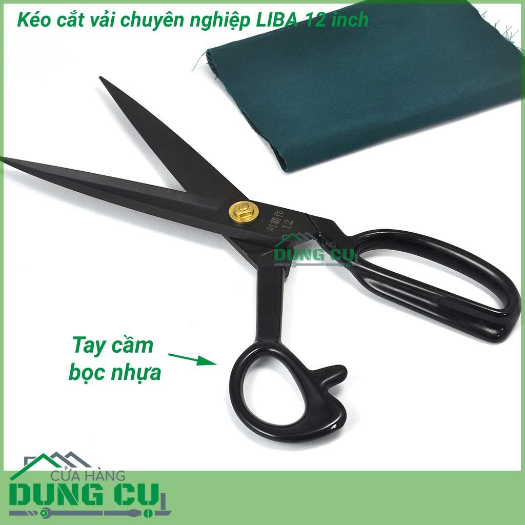 Kéo cắt vải chuyên nghiệp Liba 12inch