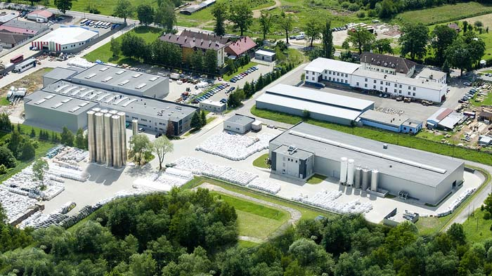 Toàn cảnh trụ sở tập đoàn cellfast Ba Lan